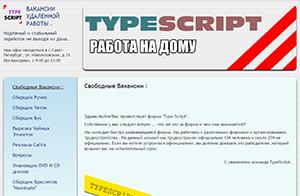 typescript.on.bereghost.ru обзор и отзывы соискателей (мошенничество и обман)